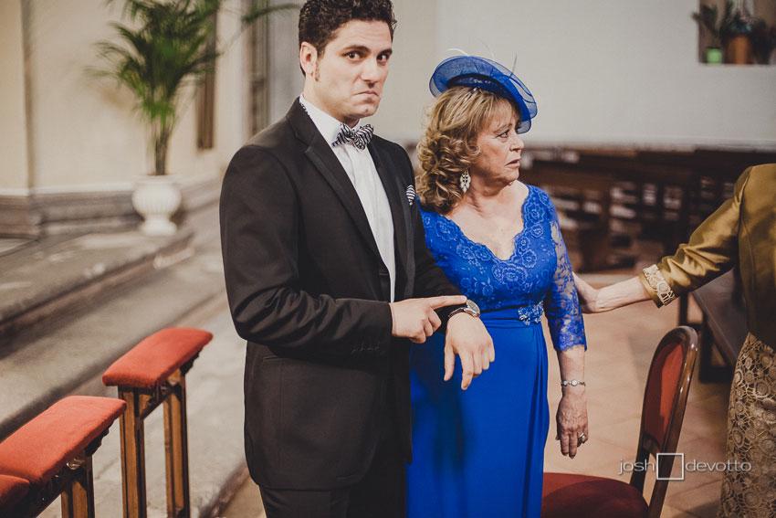 fotos boda alcalá de henares parador