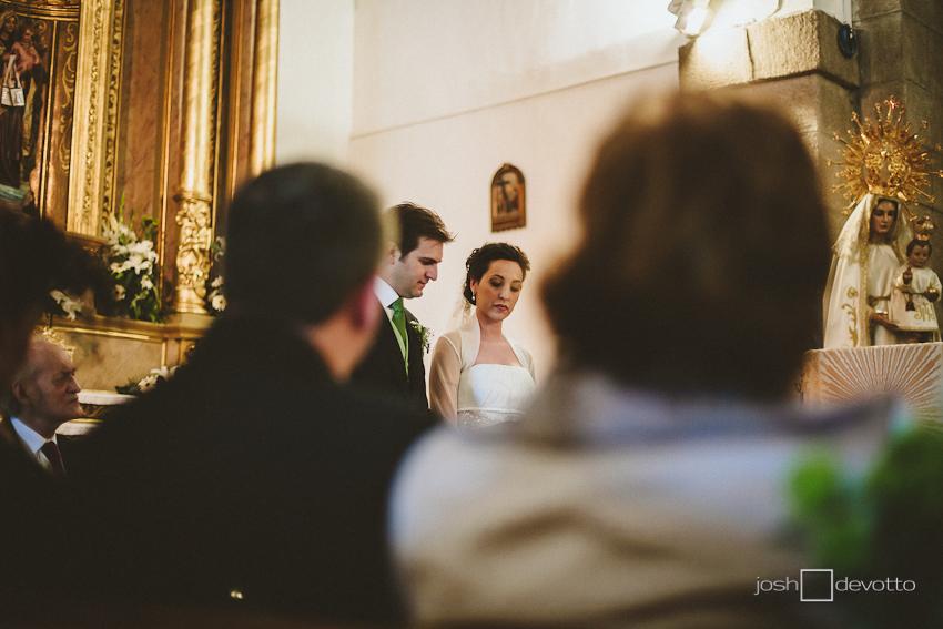 Fotógrafo Bodas Madrid - Las Rozas - Iglesia San Miguel - Finca Villa María